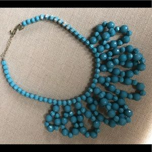 Accessories - Faux turquoise necklace